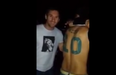 Fan with 'Messi 10′ tattoo on his back meets the man himself