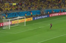 This video suggests Brazil LITERALLY didn't turn up against Germany
