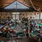 In Carnot, approx 900 Muslim displaced people are sheltering from attack in a Catholic church.  MSF provides medical care, water and food supply and sanitation.<span class=