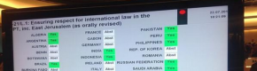 Why did Ireland abstain from a UN Human Rights Council vote on Gaza?
