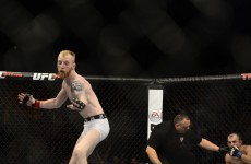 Paddy Holohan borrowed Robbie Keane's 2002 celebration for his UFC debut win