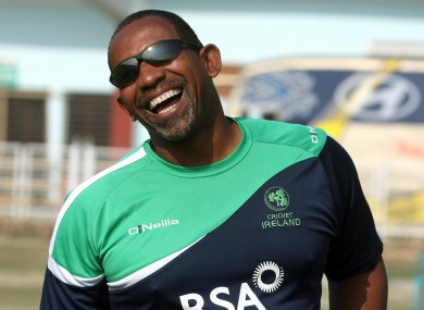 Simmons: Ireland's coach laughs in the face of fear.