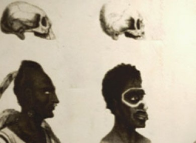 19th Century illustration of racial differences