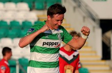 Shamrock Rovers book semi-final meeting with Bohs after win over Cork