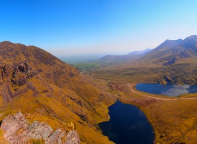 Carrauntoohil, Co Kerry, Ireland.