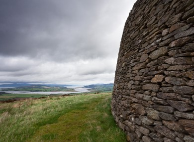 A view from Grianan of Aileach, Co. Donegal