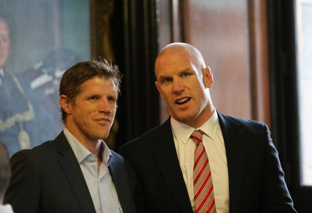 Simon Easterby and Paul O'Connell