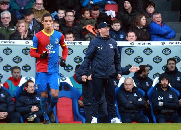 Soccer - Barclays Premier League - Crystal Palace v West Bromwich Albion - Selhurst Park