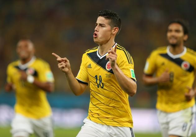 Soccer - FIFA World Cup 2014 - Round of 16 - Colombia v Uruguay - Estadio do Maracana
