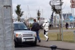 There are two Stormtroopers just strolling around Howth