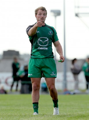 Macauley in Connacht colours last season.