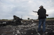 Rebels are 'blocking investigators' from MH17 crash site