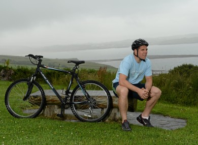 Former Donegal All-Star, Kevin Cassidy was speaking at the launch of the Wild Atlantic Way charity cycle in aid of the Irish Heart Foundation.