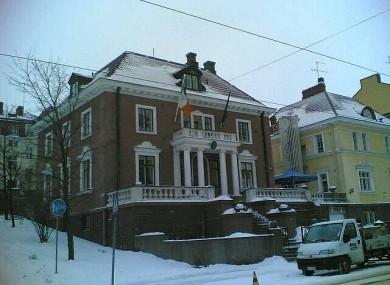 The Irish Embassy in Helsinki cost €516,000.