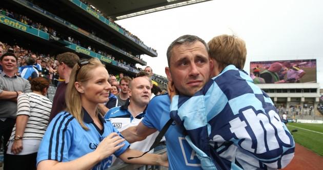 Snapshot: Semi-final heartbreak for Dublin's Alan Brogan