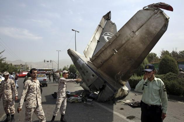 APTOPIX Mideast Iran Plane Crash