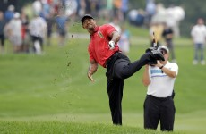 Back spasms force Woods to withdraw from WGC Bridgestone after fall