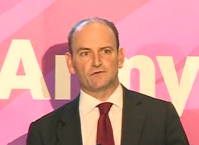 Douglas Carswell announcing his decision to join UKIP this morning