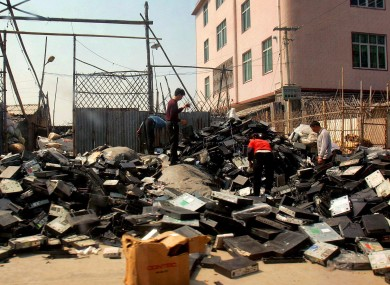 File photo of electrical waste.