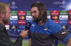 'It makes me lonely that I am the only Irishman in the Champions League' – Cillian Sheridan