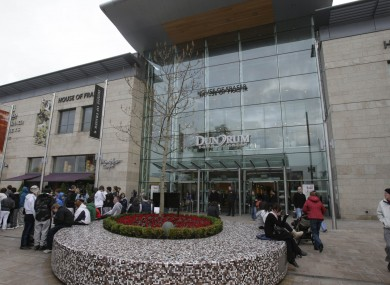 File photo of the Dundrum Town Centre shopping centre.