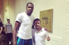 Here's another reminder of just how outrageously tall NBA players are