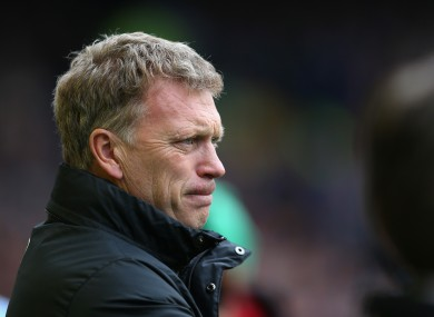 Moyes: Needed time.
