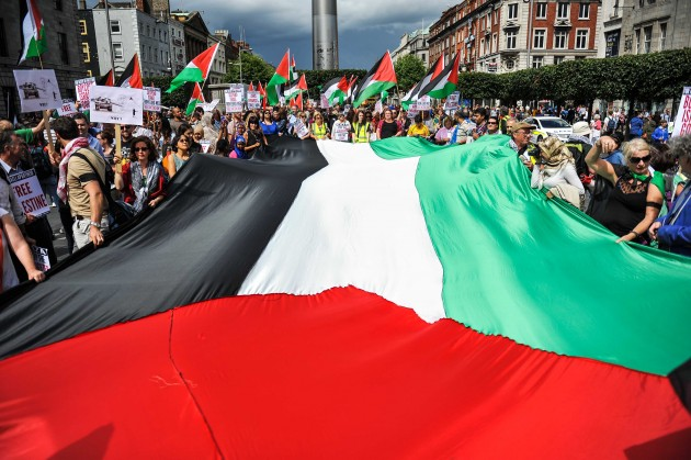 Free Palestine Demonstration, Dublin's