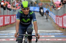 Movistar take the opening stage of the 2014 Vuleta as Quintana seeks Grand Tour double