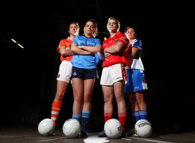 It's quarter final time in the ladies All Ireland Football Championship