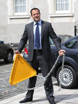 Leo is putting a clamp on expectations for reform of the health service...