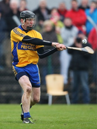Former Clare senior Niall Gilligan was in action for Sixmilebridge tonight.