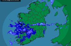 Look out, Stradbally, there's a bit of rain heading your way