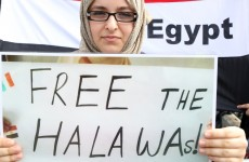 Egyptian judge walks out on trial of Irish teenager