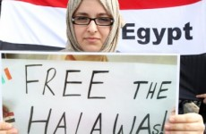 Ibrahim Halawa on hunger strike in Egyptian prison