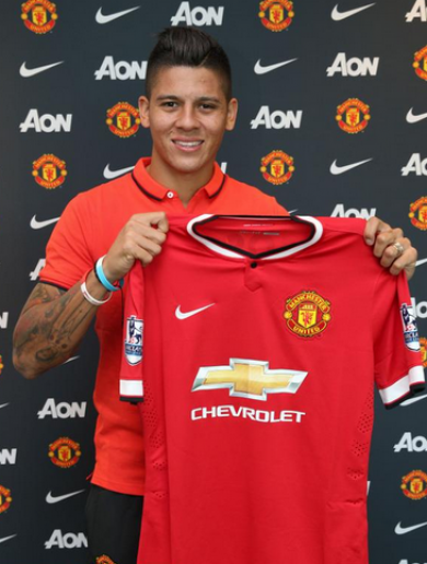 Manchester United complete £16million Marcos Rojo signing