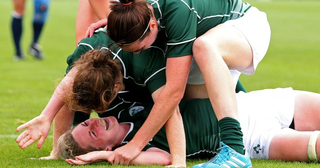 Fleming's lung-bursting try and more great pictures as Ireland Women win again