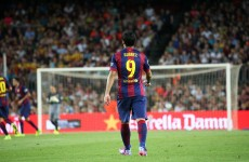 Suarez makes first Barca appearance as Messi and Neymar shine