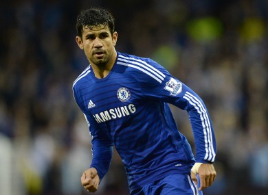 Diego Costa has started brightly at Chelsea.