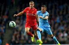 As it happened: Manchester City v Liverpool, Premier League