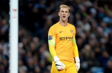 Pellegrini refuses to blame Joe Hart after City's home defeat to Stoke