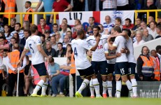 VIDEO: Lamela finally made his home debut for Spurs today, and he played quite well