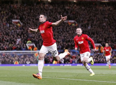 Robin Van Persie is the bookies' favourite to top the charts this season.