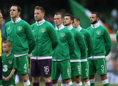 The Ireland team recently slipped to a record low of 70 in the world rankings.