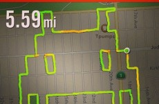 Female runner uses Nike+ to draw penises, middle fingers and Space Invaders