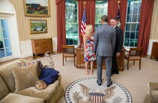 This photo of a bored kid in the Oval Office is the best thing you'll see today
