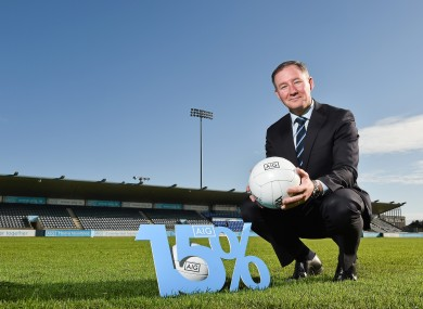 Jim Gavin at today's AIG Club Member Insurance Launch.