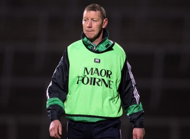 Ciaran Carey managed the LimericK U21 hurlers this year.