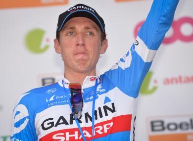 Dan Martin's impressive Vuelta continues.