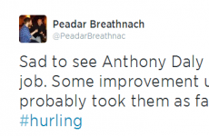 Twitter reacts to Anthony Daly's departure from Dublin